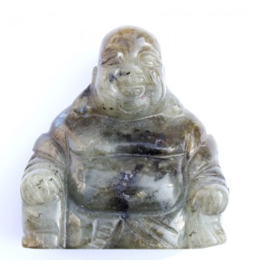 Labradoriet Buddha