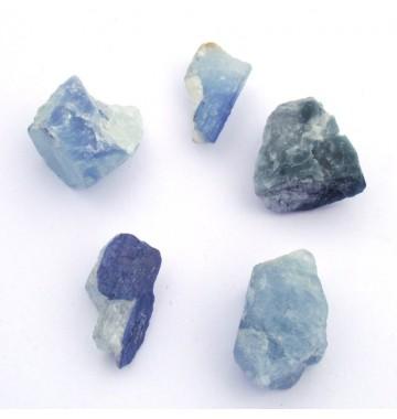 Aquamarijn ruw kristal *blauw*