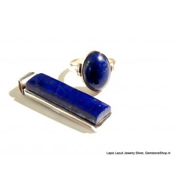 Lapis Lazuli in Zilver