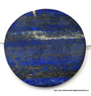 Lapis Lazuli Hanger rond