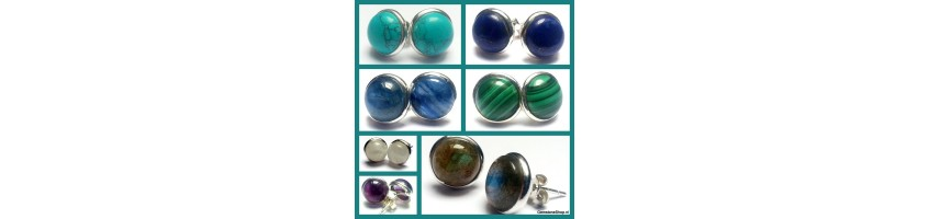 Earstuds at gemstoneshop.nl