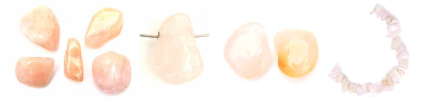 Morganiet is de roze smaragd beide bijzonder zeldzame edelstenen hebben we in onze collectie op gemstoneshop.nl
