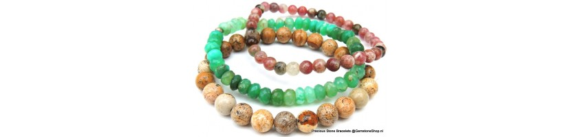 Handmade Bracelets with gemstones at Gemstoneshop.nl