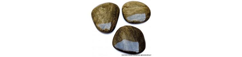 Goud Obsidiaan edelstenen bij gemstoneshop.nl