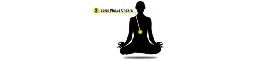 Natural healing stones for Solar Plexus Chakra