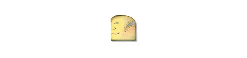 Yellow Human Healing Stones