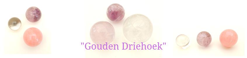 gouden driehoek edelstenen bij gemstoneshop.nl